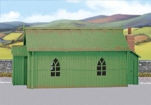 Wills Kits OO SS70 Corrugated Iron Chapel