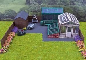 Wills Kits OO SS92 Garden Accessory Set