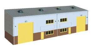 Wills Kits OO SSM300 Industrial or Retail Unit Base Kit