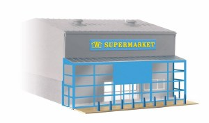 Wills Kits OO SSM310 Supermarket Frontage kit