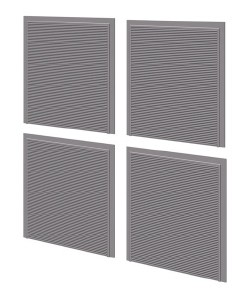 Wills Kits OO SSM313 Roller Shutter Doors Detail Pack 4 per pack