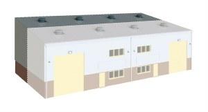 Wills Kits OO SSM315 Industrial or Retail Unit Extension Kit