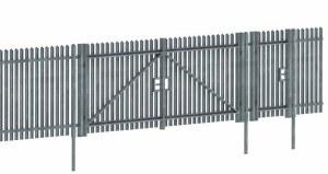 Wills Kits OO SSM316 Modern Palisade Fencing & Gates