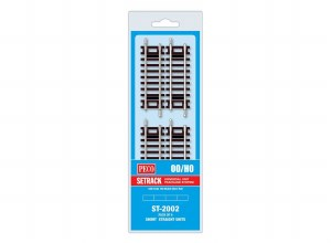 Peco OO ST-2002 Short Straight (Pack of 4)