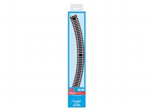 Peco OO ST-2026 Double Curve, 2nd Radius (Pack of 4)