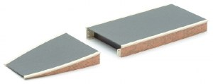 Peco OO ST-290 Platform System Straight Unit brick type