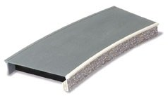 Peco OO ST-293 Platform System Curved Unit stone type