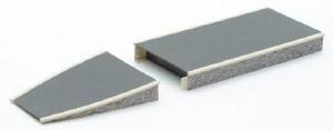 Peco OO ST-297 Platform System Ramp Unit stone type