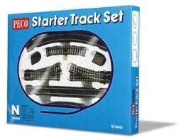Peco N ST-300 Starter Track Set 1st Radius Curves