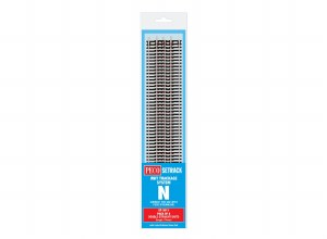 Peco N ST-3011 Double Straight (Pack of 8)