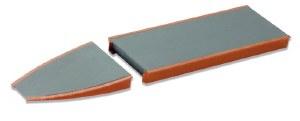 Peco N ST-93 Straight Platform Unit brick type