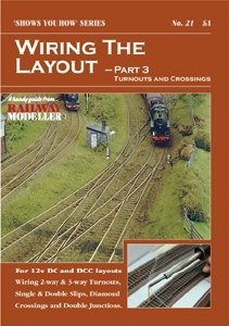 Peco Other SYH21 Wiring the Layout - Part 3: Turnouts and Crossings