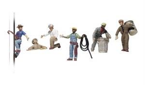 Woodland Scenics OO WA1826 City Workers (HO Scale)