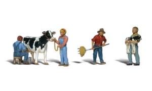 Woodland Scenics OO WA1887 Dairy Farmers (HO Scale)