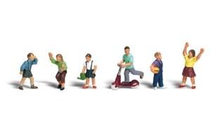 Woodland Scenics OO WA1891 Children (HO Scale)