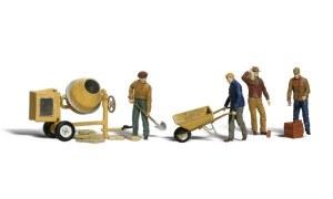 Woodland Scenics OO WA1901 Masonry Workers (HO Scale)