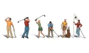 Woodland Scenics OO WA1907 Golfers (HO Scale)