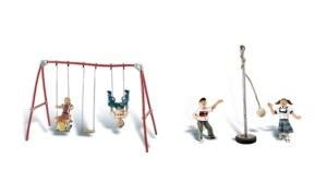 Woodland Scenics OO WA1943 Playground Fun (HO Scale)