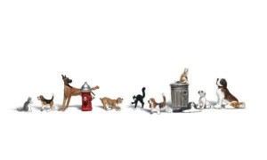 Woodland Scenics N WA2140 Dogs & Cats