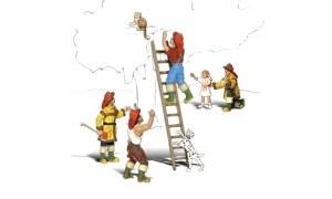 Woodland Scenics N WA2151 Firemen To The Rescue