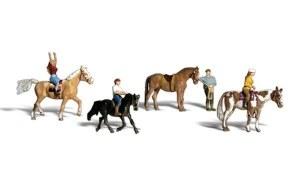 Woodland Scenics N WA2159 Horseback Riders