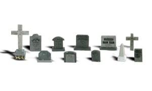 Woodland Scenics N WA2164 Tombstones