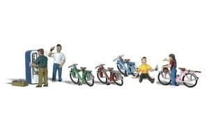 Woodland Scenics N WA2194 Bicycle Buddies