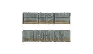 Woodland Scenics N WA2995 Privacy Fence