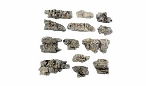 Woodland Scenics Other WC1139 Outcroppings Ready Rocks