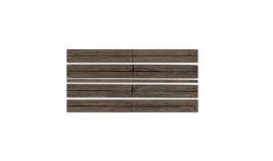 Woodland Scenics O WC1145 O Wood Plank Grade Crossing