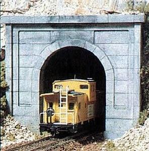 Woodland Scenics N WC1152 N Concrete Single Tunnel Portal (x2)