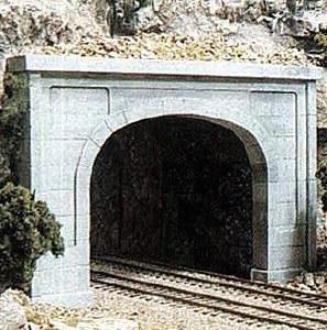 Woodland Scenics N WC1156 N Concrete Double Tunnel Portal (x2)