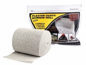 Woodland Scenics Other WC1191 Plaster Cloth Narrow Roll