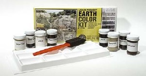 Woodland Scenics Other WC1215 Earth Colour Kit