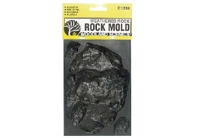 Woodland Scenics Other WC1238 Rock Mold-Weathered Rock (5x7)