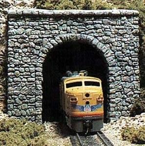 Woodland Scenics HO WC1255 HO Scale Tunnel Prt Rand Stn Single (x1)