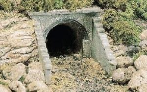 Woodland Scenics HO WC1263 HO Scale Culvert Masonry Arch (x2)