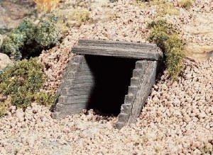 Woodland Scenics HO WC1265 HO Scale Culvert Timber (x2)