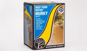 Woodland Scenics Other WCW4511 Deep Pour Water - Murky