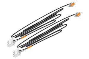 Woodland Scenics Other WJP5736 Orange Stick-on LED Lights
