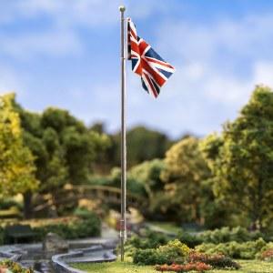 Woodland Scenics Other WJP5959 Medium Flag Pole Union Jack