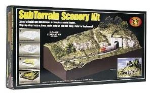 Woodland Scenics N WS929 Subterrain Scenery Kit N Gauge