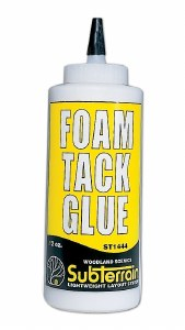 Woodland Scenics Other WST1444 Foam Tack Glue 12 fl. oz.
