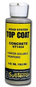 Woodland Scenics Other WST1454 Top Coat Concrete Paving 4oz