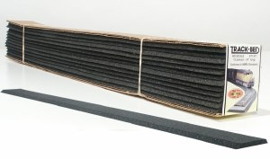 Woodland Scenics OO WST1471 OO/HO Scale Trackbed Strips Pack of 12
