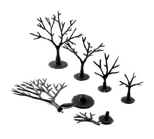 "Woodland Scenics Other WTR1120 Tree Armatures Deciduous Trees 3/4"" to 2"""