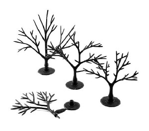 """Woodland Scenics Other WTR1121 Tree Armatures Deciduous Trees 2"""" to 3"""""""