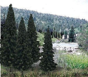 """Woodland Scenics Other WTR1586 4""""-6"""" Ready Made Evergreen Value Pack (13/Pk)"""