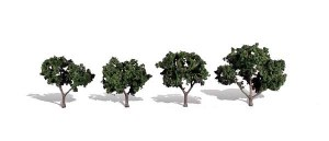 Woodland Scenics Other WTR3505 4 Cool Shade Trees Dark 2 - 3in 5.08-7.62cm