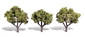 Woodland Scenics Other WTR3506 3 Early Light Trees Light 3 - 4in 8-10cm